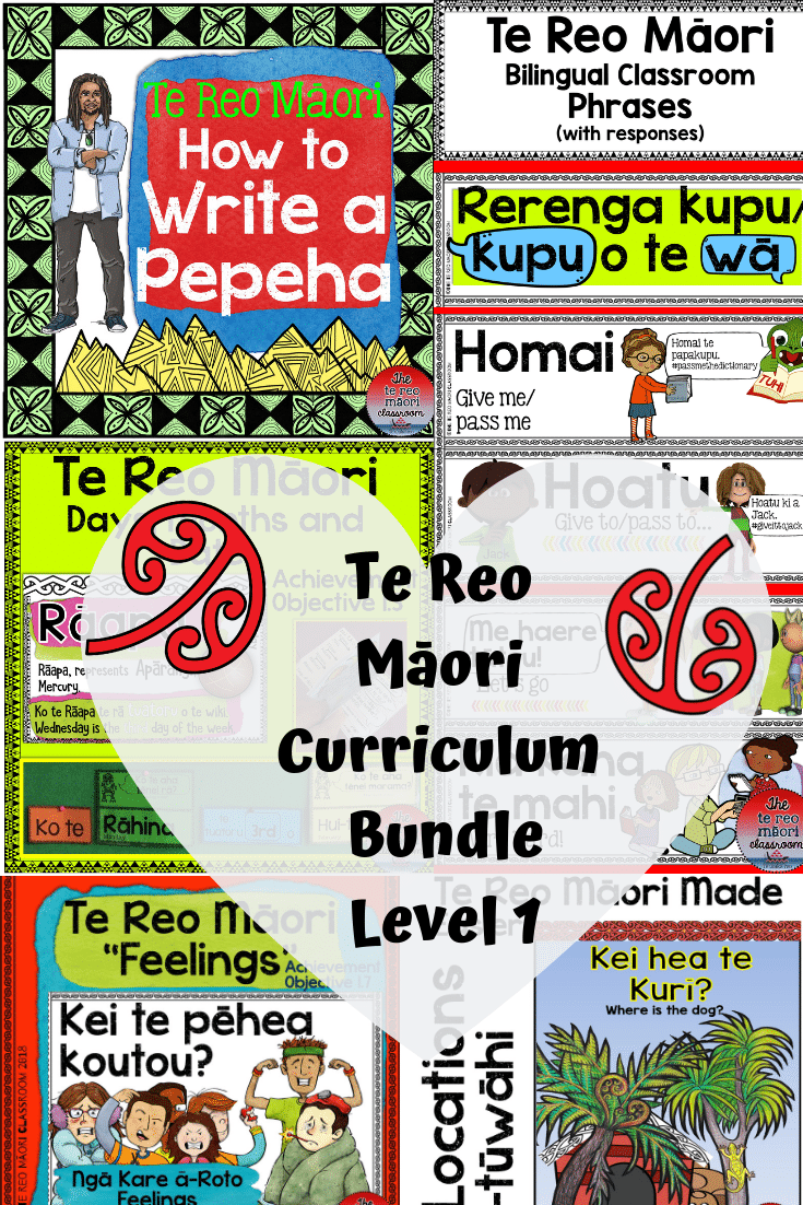 Te Reo Māori classroom phrases, printables and activities are based on the te reo Māori curriculum. This bundle will help immensely with planning and teaching te reo.