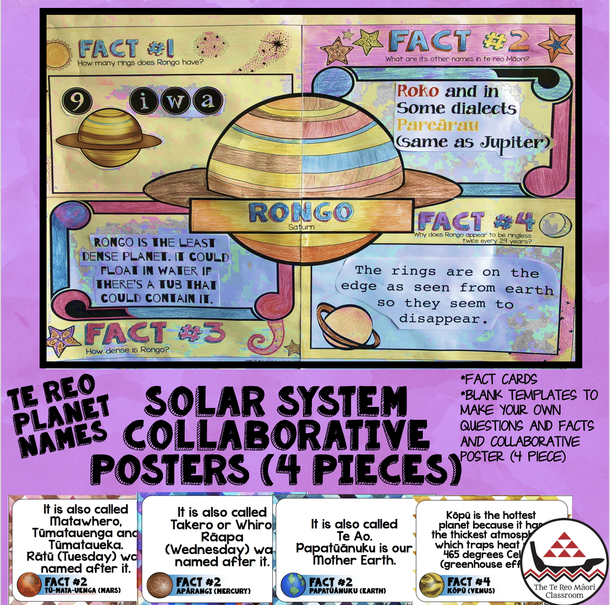 solar system collaborative poster