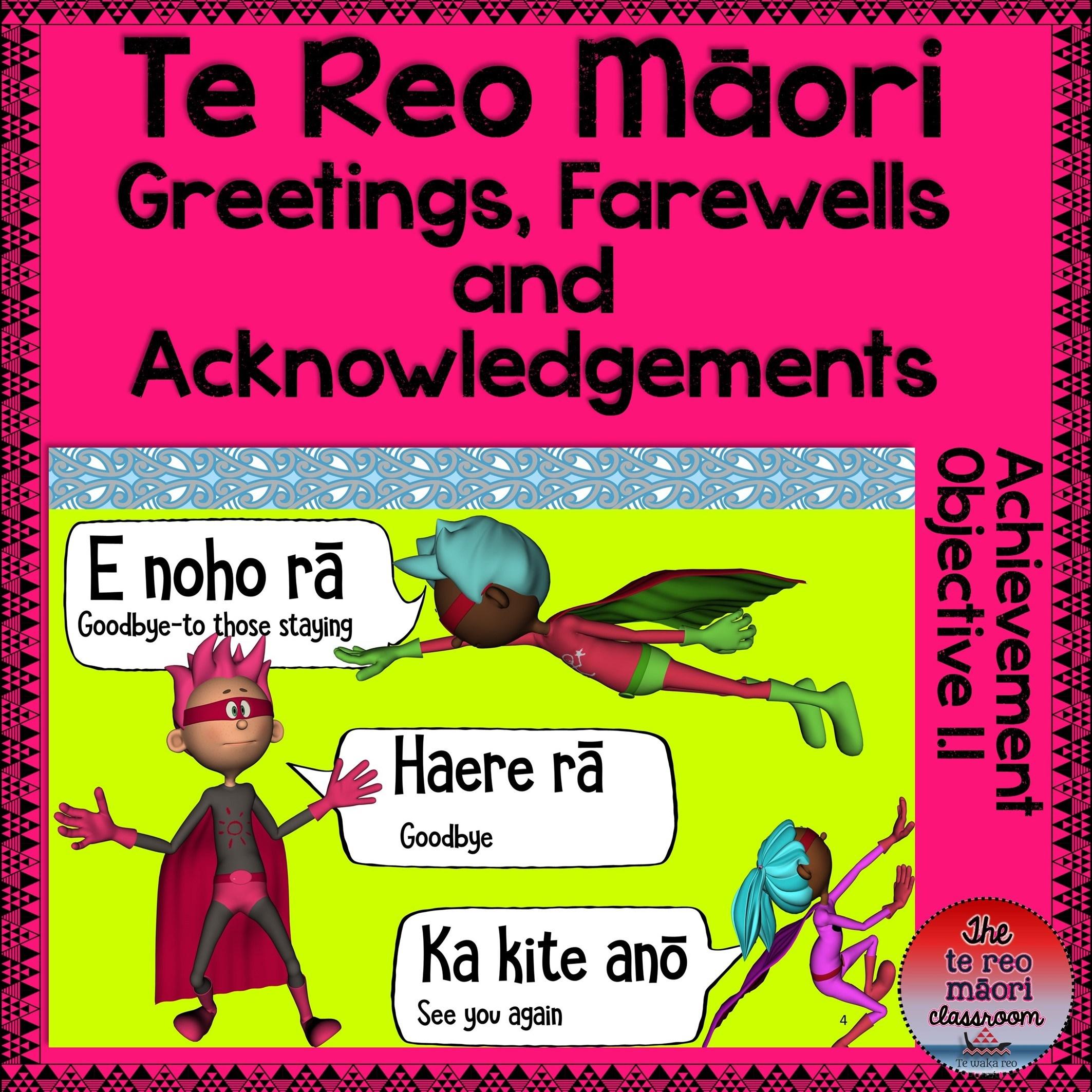 Te reo mori greetings farewells and acknowledgements the te reo te reo mori greetings farewells and acknowledgements m4hsunfo