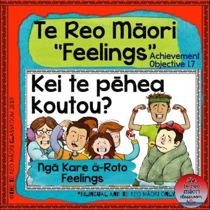 Te Reo Māori: Feelings-Ngā Kare ā- Roto