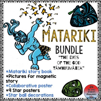 Matariki teaching resource bundle