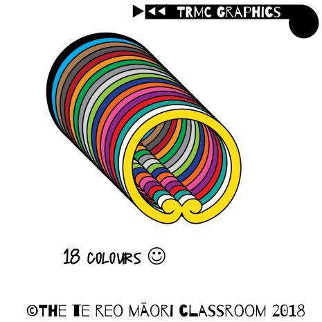 18 colours small