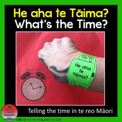 What's the time in maori