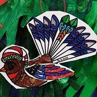 Christmas bird 6