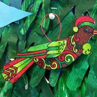 Christmas bird 7