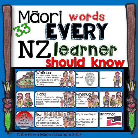 cover 33 Maori words copy