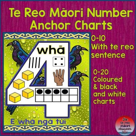 number anchor charts cover