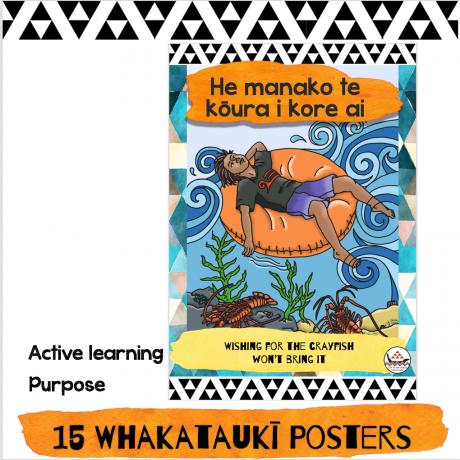 whakataukī posters
