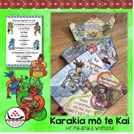 Concertina Book – Karakia mo te Kai