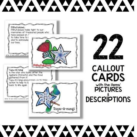 Matariki Callout Cards