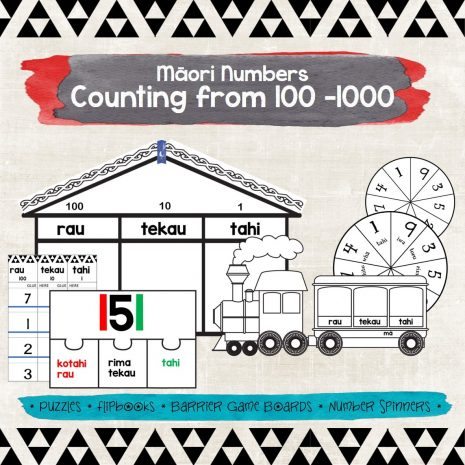 Maori numbers counting from 100-1000