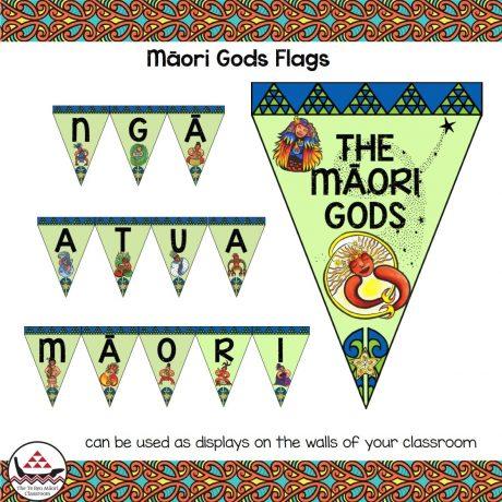 Maori gods flags