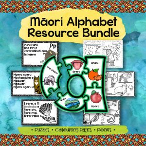 Māori alphabet resource bundle