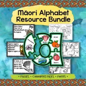 Māori alphabet resource bundle