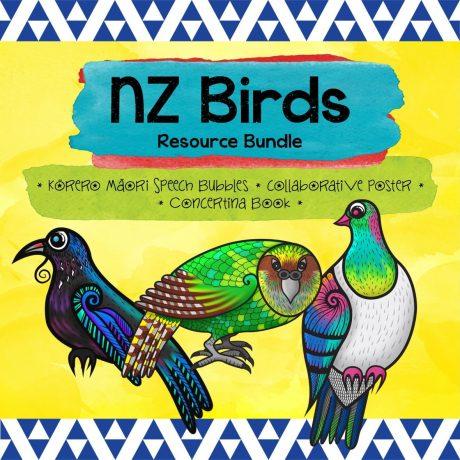 NZ Birds Bundle Square
