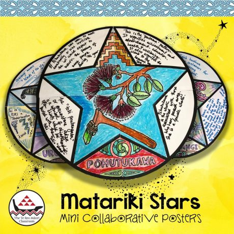 Matariki Stars Mini Collaborative Posters