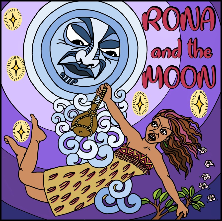 Maori stories - Rona and the Moon