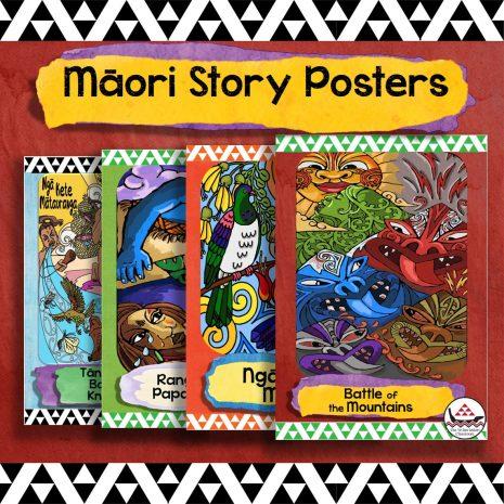 Maori story posters