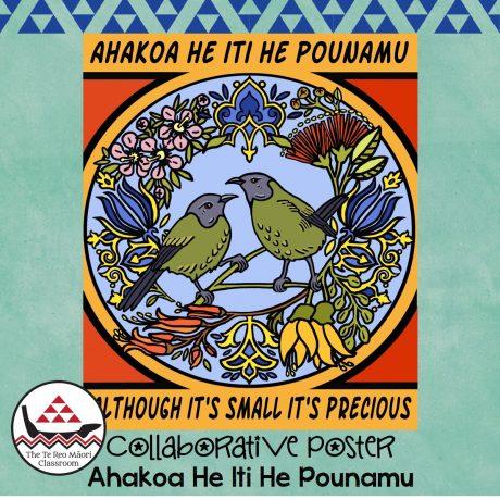 Ahakoa…Collaborative Poster Square Cover