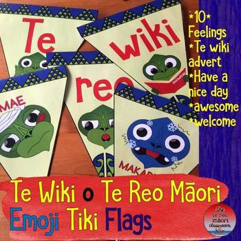 Emoji Tiki Flags