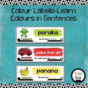 Colour Sentence Labels