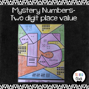 mystery numbers two digit place value