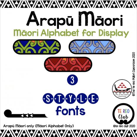 Māori Fonts