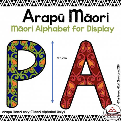 Maori alphabet