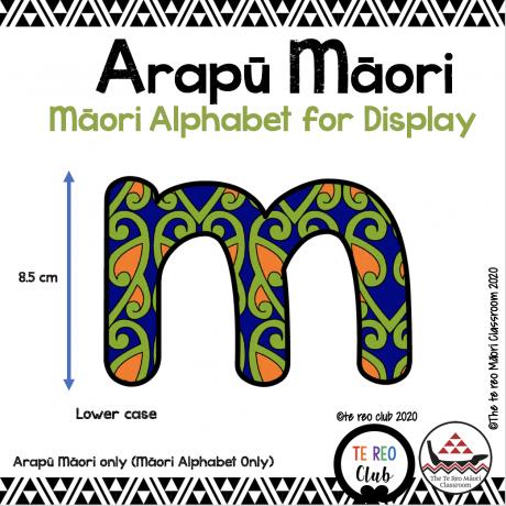 Māori alphabet