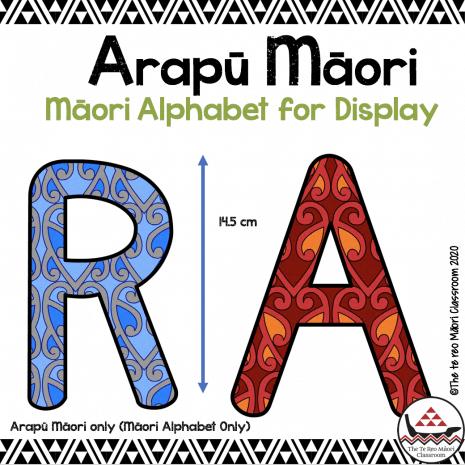 Maori font