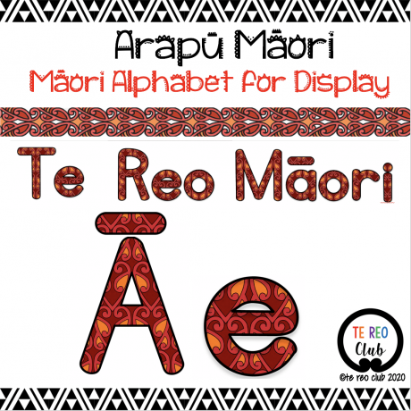 Arapū Māori-Māori Alphabet