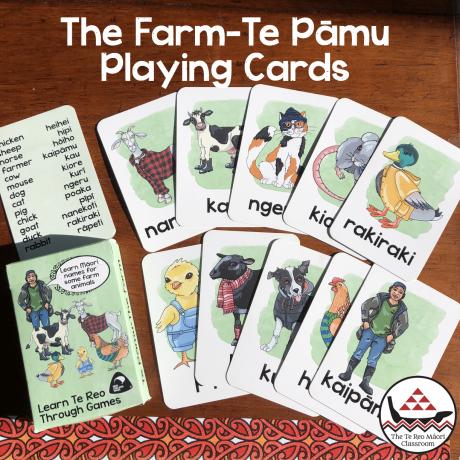 Te Reo farm card game