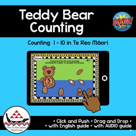 Teddy Bear Counting Boom Cards
