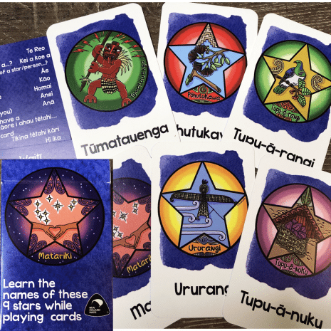 Matariki Playing Cards