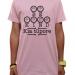 kids tee shirt (pink)